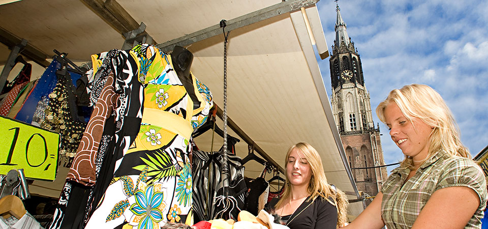 Delft-Shopping-Market